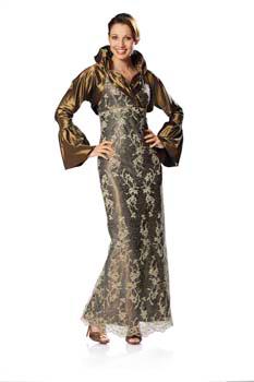 Выкройка Burda (Бурда) - Вечернее платье, жакет.